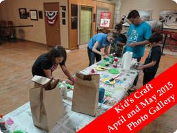 Kid's Craft April and May 2015