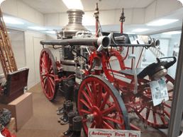 Greater Southwest Historical Museum: Steam-Pump Fire Engine
