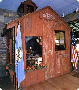 Greater Southwest Historical Museum: Little Red Schoolhouse