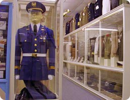 Greater Southwest Historical Museum: Military Museum displays